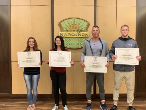 Narconon Suncoast Graduation Celebrates Five New Drug-Free Lives at Weekly Graduation
