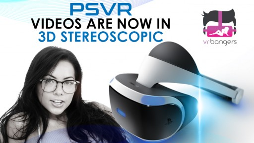 VR Bangers Unleashes First 'Hack' Ever for PSVR Stereoscopic 3D Videos