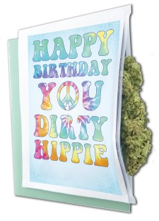 Dirty Hippie Birthday Gift Bag