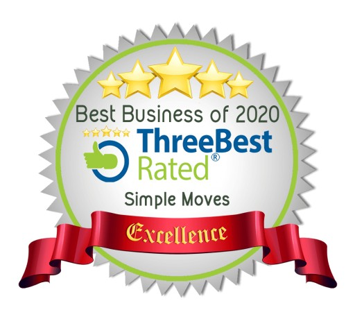 Simple Moves From North Vancouver Wins 2020 Three Best Rated Award for Best Moving Companies
