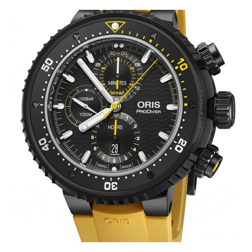 Oris Releases Dive Control Limited Edition Timepiece as First Brand Offering in 2019