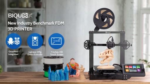 BIQU Announces the Launch of BIQU BX - World's Lightest Direct Extruder FDM 3D Printer