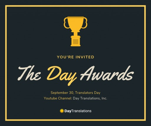 Day Translations Announces Award Ceremony for the Language Industry