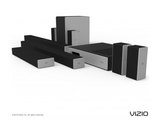 VIZIO Announces 2019 Audio Collection at CES 2019, Highlighted by Additional Dolby Atmos® Offerings Along With New Sound Bar and Subwoofer Designs