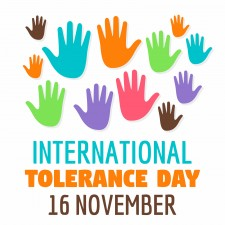 International Tolerance Day 16 November
