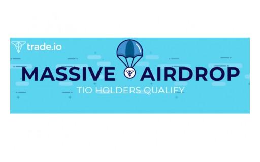 trade.io Announces Upcoming Massive Crypto Airdrop Campaign to Trade Token (TIO) Holders