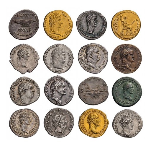 Authentic 2,000-Year-Old Coins to Be Offered at the Chicago Coin Expo Held at the Palmer House Hotel April 18-21