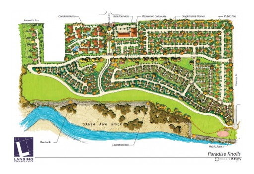 Lansing Companies Progresses With Paradise Knolls Project - Jurupa Valley, CA