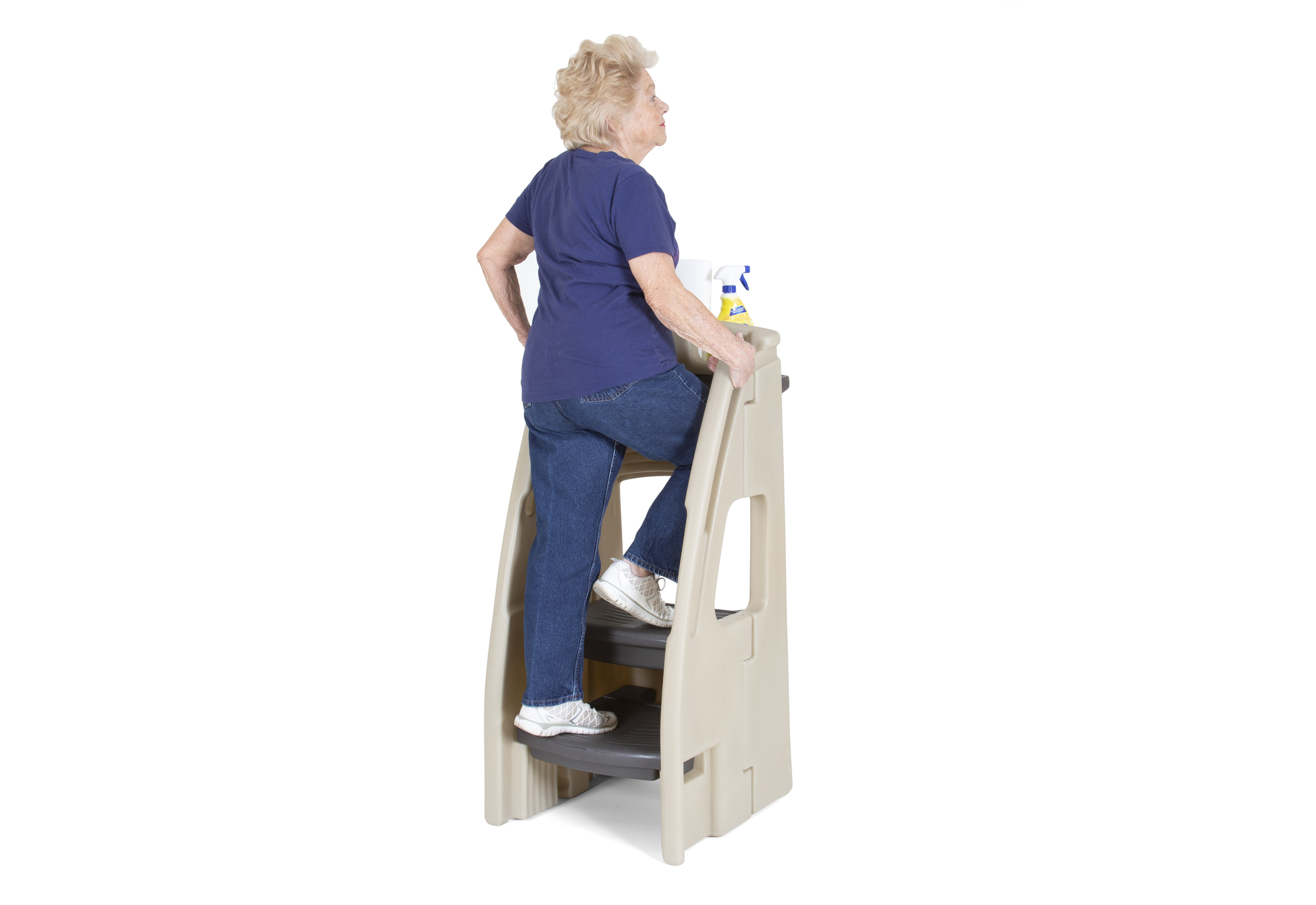The Simplay3 Company Enhances Balance Stability And Mobility In The Two Step Ladder Newswire