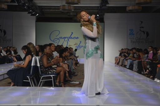 "Couture Fashion Week Spring/Summer 2017 Introduces Rising R&B Star ""Candace Woodson"""