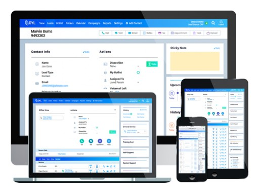 Welcome to the Next Generation of Business Phone Service: DYL Releases New Upgrade and User Interface for Phone Sales Platform