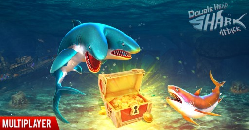 BigCode Games' 'Double Head Shark Attack' Multiplayer Game to Be Released on Steam on Oct 20