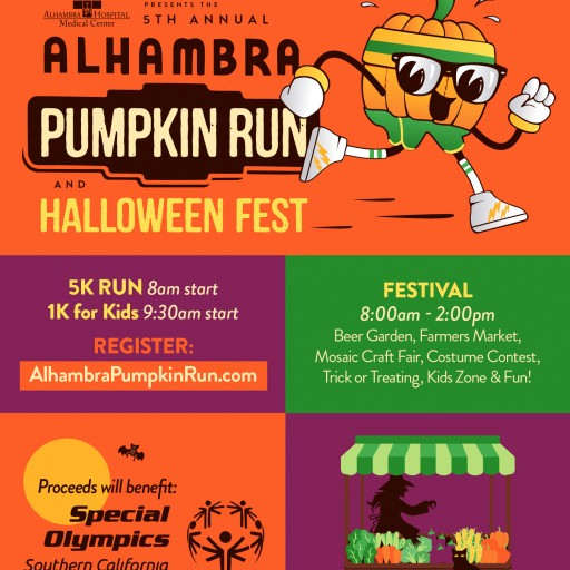 2018 Alhambra Pumpkin Run & Halloween Fest to Benefit Special Olympics