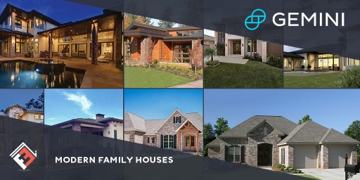 Modern Family Houses to Accept Gemini Dollar Payments for Custom Homes