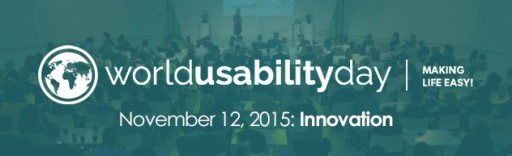 World Usability Day Is November 12, 2015