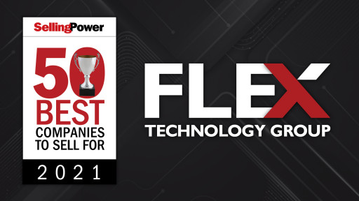 Flex Technology Group Featured on Selling Power's '50 Best Companies to Sell For' List in 2021