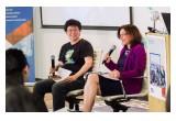 Jean Su, Istuary Innovation Group and Professor Elizabeth Croft, UBC