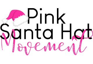 Pink Santa Hat 5k Logo