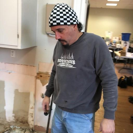 Union Carpenters Local 279 Repairs Flooring for the Nyack Center