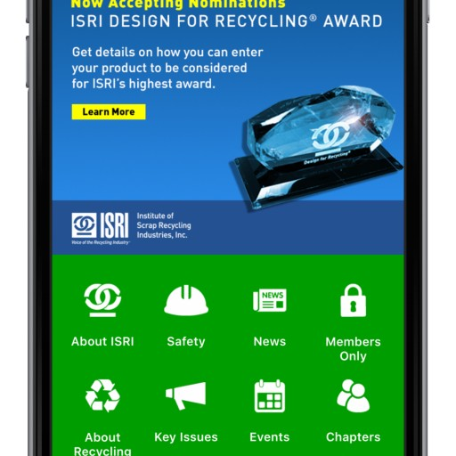 ISRI Mobile App Wins the Prestigious MarCom Platinum Award