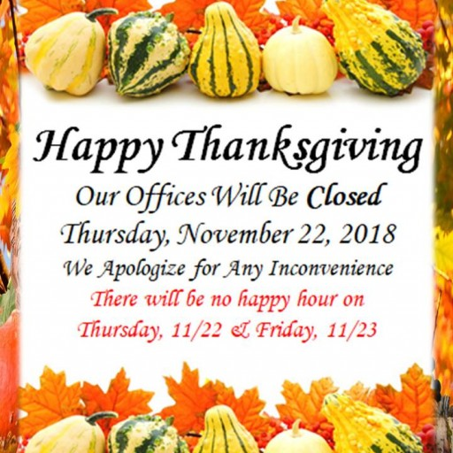 1010 Wilshire Wishes Its Tenants a Happy Thanksgiving