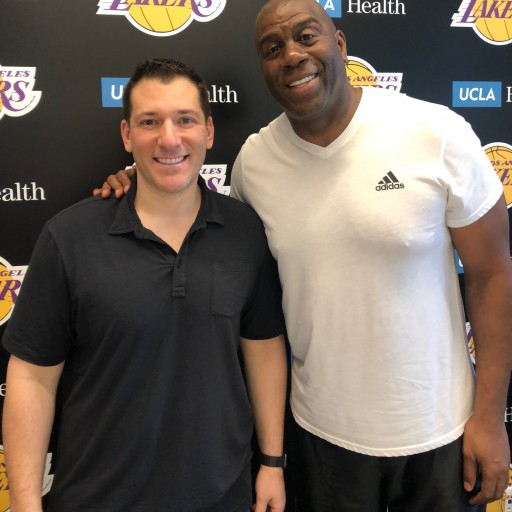 Magic Johnson's First-Ever Exclusive Memorabilia Deal Announced