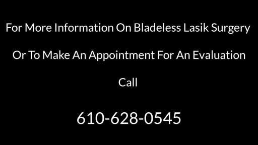 Bladeless Lasik Surgery Sigmund PA-610-628-0545