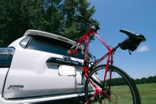 Bike on SUV