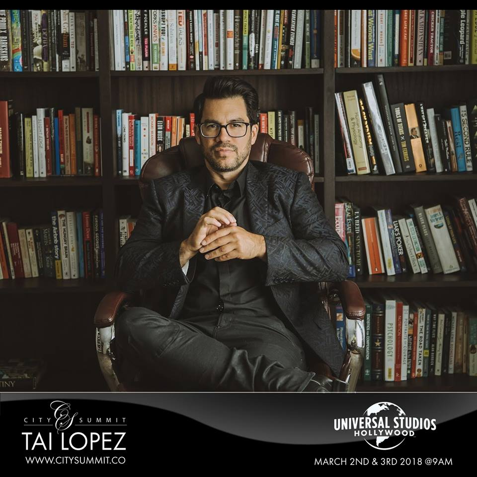 tai lopez investor mensa member and celebrated business advisor