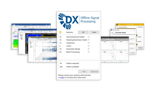 APEX Announces New Token Based Licensing Model for Offline Signal Processing Software