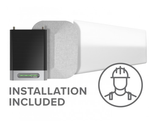 Installation Now Included With Purchase of Cell Phone Signal Booster's Kit