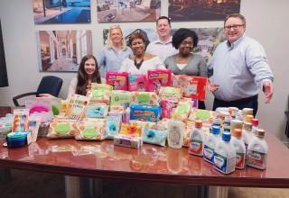 Corporate Diaper Donation Drive