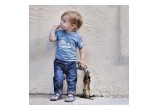 Hipster Kid in Save Whales Tee