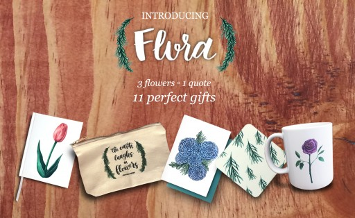 Water & Chalk Releases Their First Limited Edition Collection: Flora