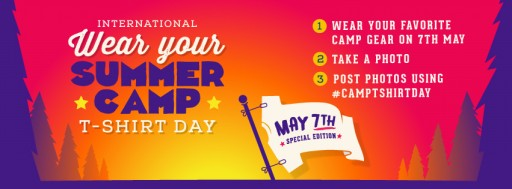 Camps to Come Together on #CampTShirtDay, May 7