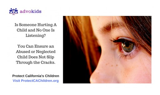 Simple Legal Forms Can Protect California Children From Abuse, Neglect & Death