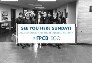 FPCB-ECO Celebrates New Temporary Sunday Services