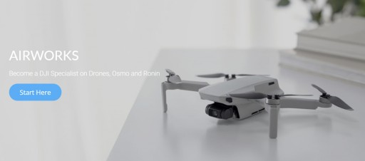 DJI Dealer AirWorks Reveals Its Online Educational Platform for Drone Products