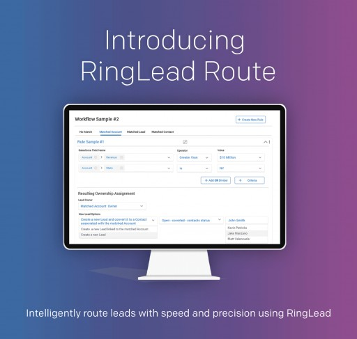 RingLead Unveils Intelligent Routing for Salesforce With RingLead Route