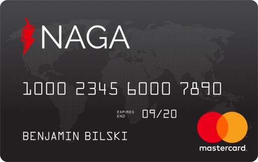 NAGA Announces Start of Pre-Registration of the NAGA Debit Card