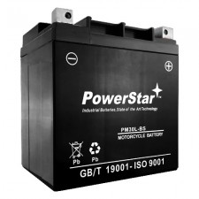 PowerStar PM30L-BS Motorcycle Battery