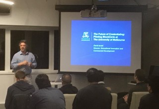 The Future of Credentialing: Piloting Blockcerts at the University of Melbourne