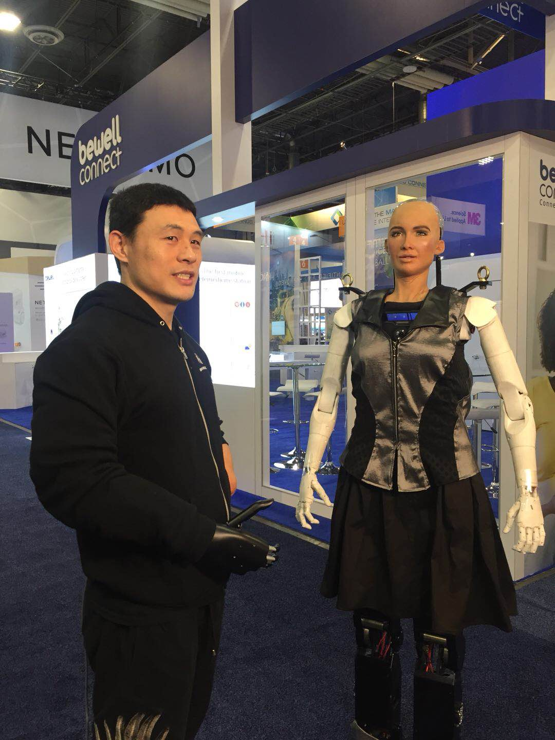 Mind Controlled Industrial Robot Brainco Debuts Cutting