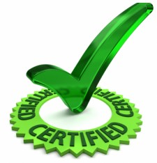 Quietroom product Certification