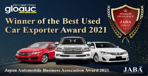 GloAuc Makes History as It Claims JABA Best Used Car Exporter Award 2020-2021