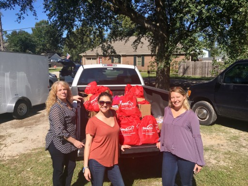 HomeAid Distributes Hygiene CareKits to Partner Family Promise of St. Tammany