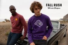 Fall Rush brand apparel