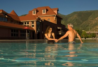 romantic getaway at Glenwood Hot Springs Resort