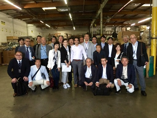 Japanese Delegates Visit Electronic Recycling Center to Learn Best Practices for Responsible E-Waste Management