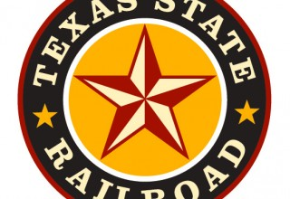 Texas State Railroad logo